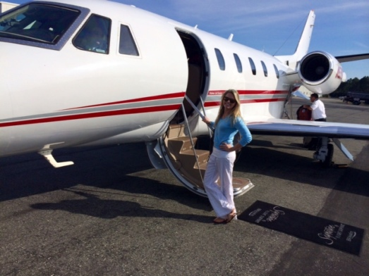 My First Trip on a Private Jet!